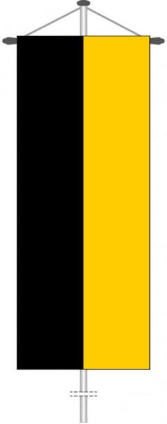Baden-Würtemberg - Streifenflagge als Bannerfahne