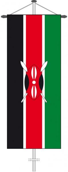 Kenia als Bannerfahne