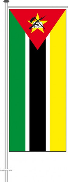 Mosambik als Auslegerfahne
