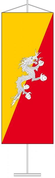 Bhutan als Tischbanner