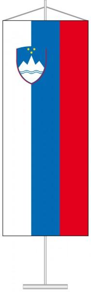 Slowenien als Tischbanner