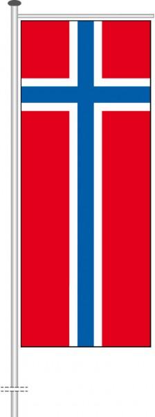Norwegen als Auslegerfahne