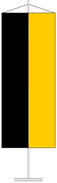 Baden-Würtemberg - Streifenflagge als Tischbanner