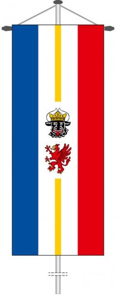 Mecklenburg-Vorpommern - Dienstflagge als Bannerfahne
