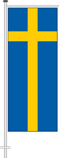 Schweden als Auslegerfahne