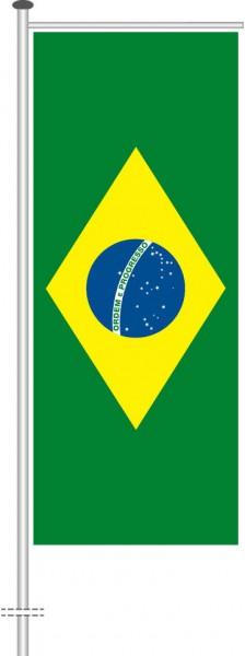 Brasilien als Auslegerfahne