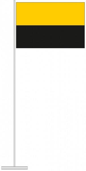 Sachsen-Anhalt - Streifenflagge als Tischfahne