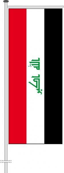 Irak als Auslegerfahne