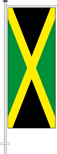 Jamaika als Auslegerfahne