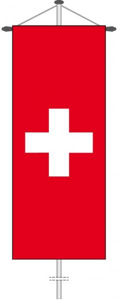 Schweiz als Bannerfahne