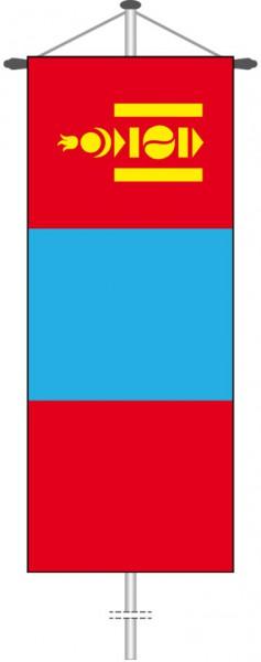Mongolei als Bannerfahne