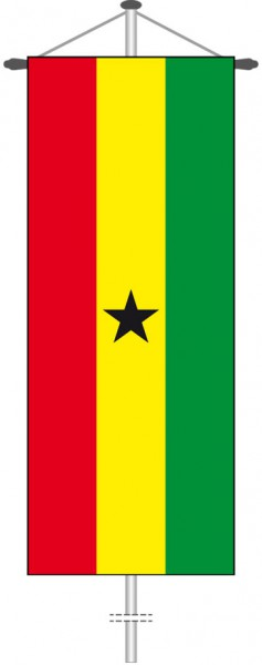 Ghana als Bannerfahne