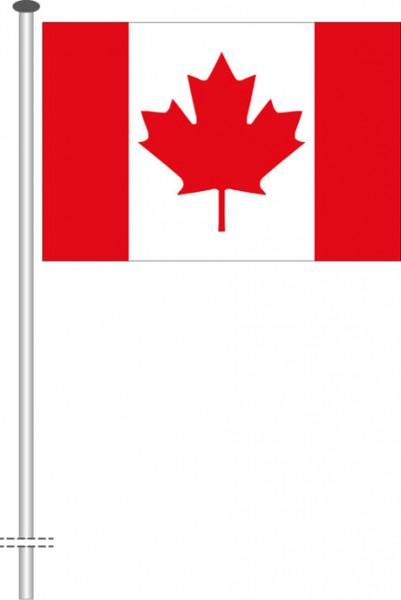 Kanada als Querformatfahne