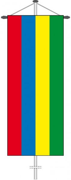 Mauritius als Bannerfahne