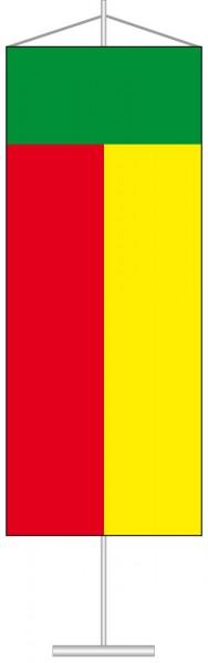 Benin als Tischbanner
