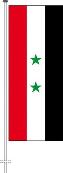 Syrien als Hochformatfahne