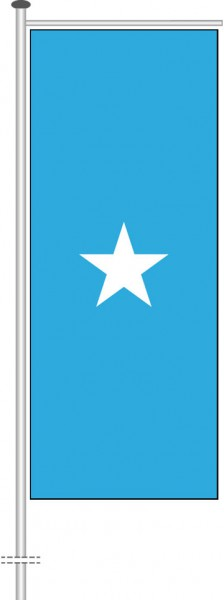 Somalia als Auslegerfahne