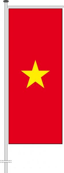 Vietnam als Auslegerfahne
