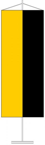 Sachsen-Anhalt - Streifenflagge als Tischbanner