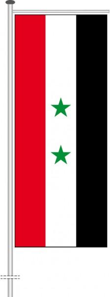 Syrien als Auslegerfahne