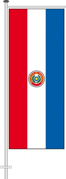 Paraguay als Auslegerfahne