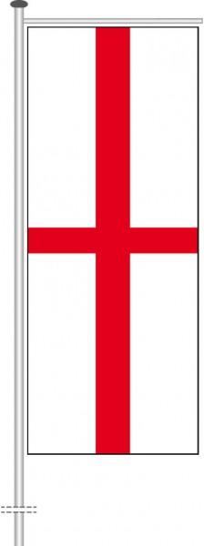 England als Auslegerfahne