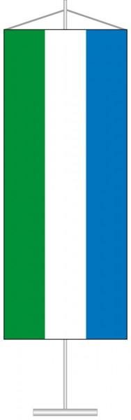 Sierra Leone als Tischbanner