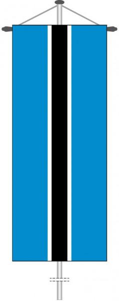 Botsuana als Bannerfahne