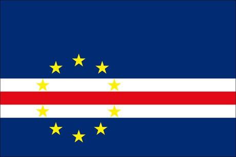 Kap Verde als Fanfahne