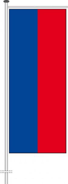 Haiti als Auslegerfahne