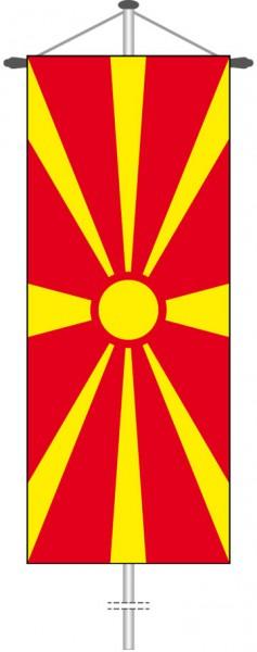 Mazedonien als Bannerfahne