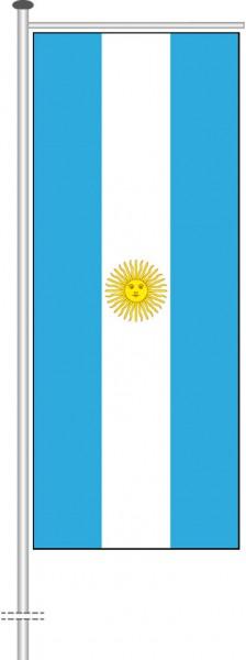 Argentinien als Auslegerfahne