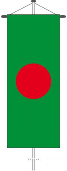 Bangladesch als Bannerfahne