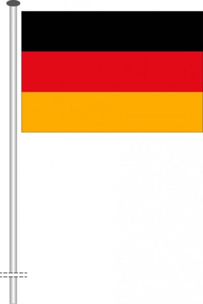 Deutschland als Querformatfahne
