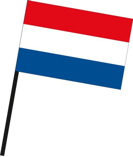 Niederlande als Stockfahne