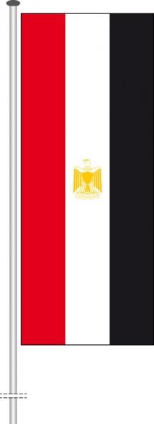 Aegypten als Hochformatfahne