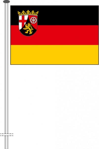 Rheinland-Pfalz - Bürgerflagge als Querformatfahne