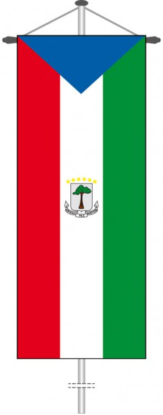 Aequatorialguinea als Bannerfahne