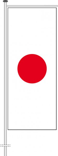 Japan als Auslegerfahne