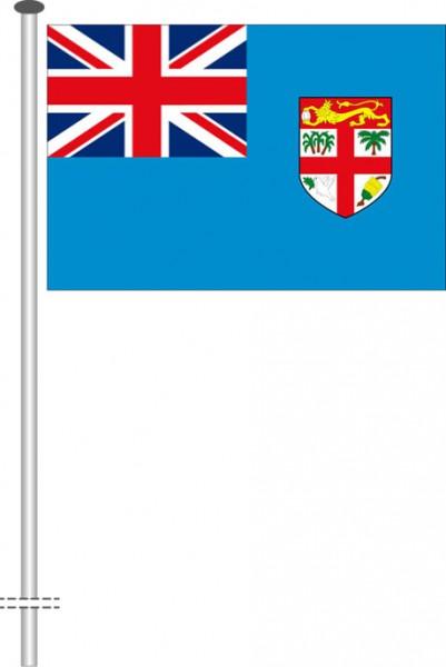 Fidschi als Querformatfahne