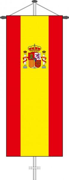 Spanien als Bannerfahne