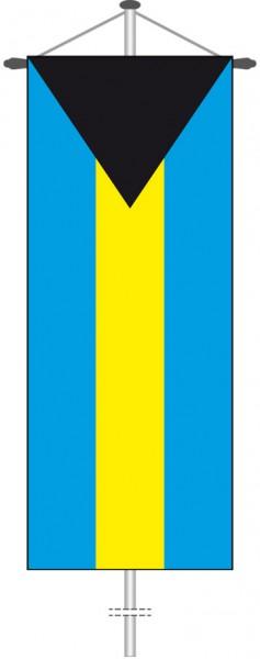 Bahamas als Bannerfahne