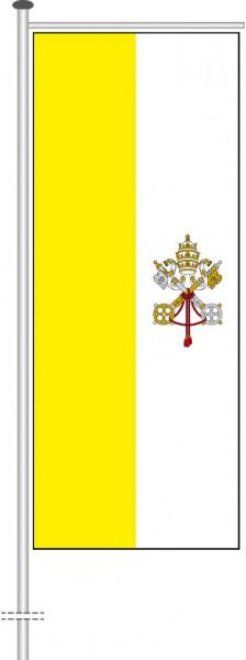 Vatikan als Auslegerfahne