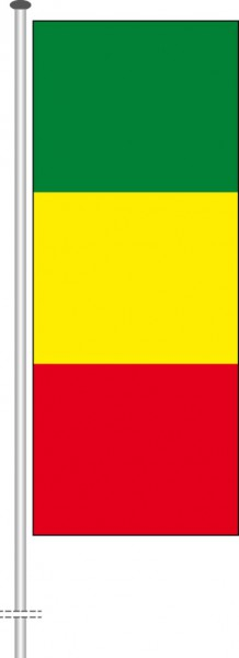 Mali als Hochformatfahne