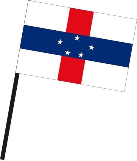 Niederlaendische Antillen als Stockfahne