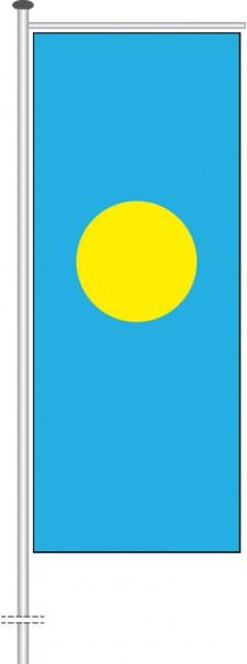 Palau als Auslegerfahne