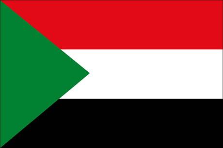 Sudan als Fanfahne