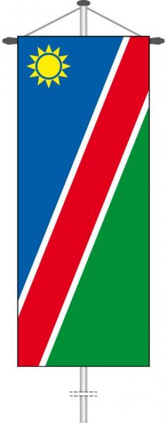 Namibia als Bannerfahne