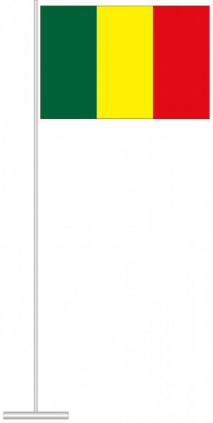Mali als Tischfahne