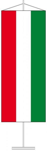 Ungarn als Tischbanner